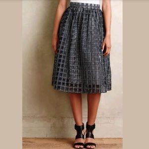 Anthropologie Adrie Skirt